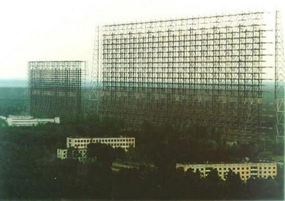 Sistema de antenas de transmisión de la estación e instalaciones