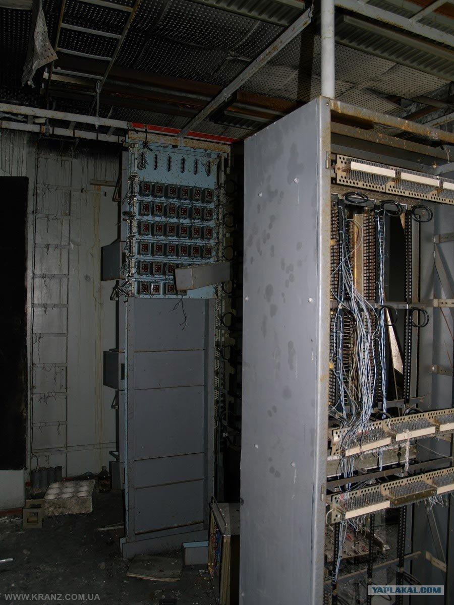 Sala de comunicaciones del edificio principal