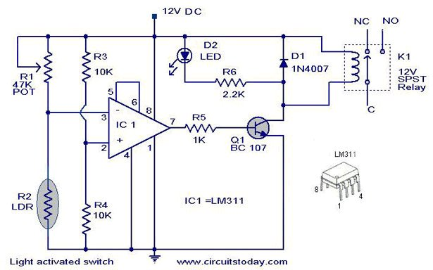 Controles automaticos de luces on photocell with timer wiring diagram