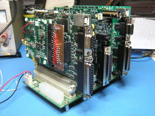 Transceptor HPSDR de Phil Harman, VK6APH, año 2007